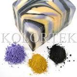 비누 만들기를 위한 장식용 산화물, 감청색 파랑 및 돌비늘