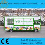 Carro móvel favorito do alimento dos clientes para a venda