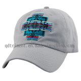Micro gamuza bordados metálicos de béisbol de ocio Hat Cap (TRB091)