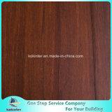 El piso de bambú tejido con escobillas más baratas de uso interior en el color del café y la calidad estupenda
