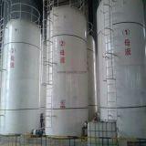 Tanque de pressão química química FRP / GRP Tanque de combustível industrial do tanque de pressão