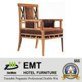 Chaise en bois d'hôtel de modèle chinois (EMT-HC84)