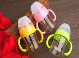 la botella de bebé de cristal del diamante 120ml BPA libera