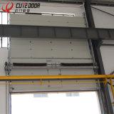 Двери гаража промышленной мастерской поставщика Китая секционные используемые надземные