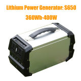 sistema eléctrico de 360wh/444wh 400W Soalr/generador portables 110V/220V/230V/240V