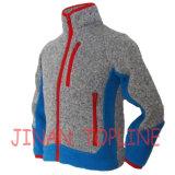 색깔 가득 차있는 지퍼 Microfleece 재킷을 바느질해 아이들