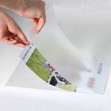 Film semi automatique de PVC de Msfy-1050m Glueless et machine feuilletante de papier avec le couteau rond