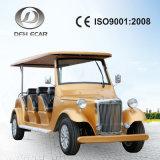 Retro veicolo elettrico dell'automobile di golf di disegno