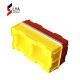 Новая конструкция пластиковый конкретные полые кирпичи блокировки цилиндров пресс-формы