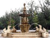Fontaine en marbre de sculpture pour décoration de jardin