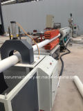 Linha de produção de extrusão de parafuso duplo para tubos