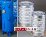 Água do compressor de ar do parafuso/separador ar/óleo