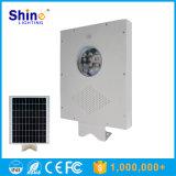 Lumière solaire Integrated inférieure de jardin du prix usine 12W 10W DEL