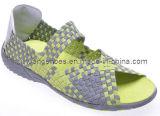 Madame occasionnelle classique Handmade Sandals Shoes de 2012 modes