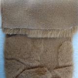 卸し売りポリエステルによってブラシをかけられるのどの毛皮ファブリック長いプラシ天ファブリック