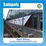 Serre chaude en verre matérielle d'ombre de couverture verte de réseau pour le champignon de couche