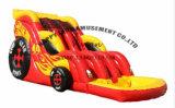 車の形の膨脹可能なスライド/Inflataleの快適なスライド
