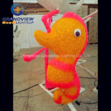 Cartoon Sea Horse LED Natal Ano Novo Luz