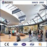 Estructura de acero galvanizado en caliente Centro Comercial con gran amplitud (edificio de acero)
