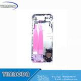 Couverture arrière de téléphone mobile pour les pièces complètes d'Assemblée de l'iPhone 6s
