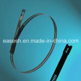 Serres-câble enduits d'acier inoxydable de blocage de bille (norme allemande)