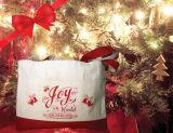 크리스마스 끈달린 가방 면 화포 책가방 기저귀 쇼핑 백