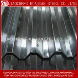 Цинковым покрытием рифленого металла кровельный лист для строительства