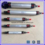 高圧二重代理の打撃調節可能な小型空気シリンダー小型空気シリンダー