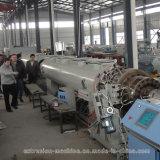 Machine en plastique d'extrusion de pipe de HDPE pour l'eau et le gaz