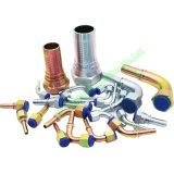 Diritto/gomito del GB \ montaggio idraulico metrico \ SAE \ Bsp