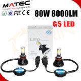 2017 Nouveau 4000lm 40W Hi/Lo LED lampe ampoule de phare antibrouillard H4 12V/24V