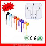 Quente! ! ! Telecomando e microfone para iPhone5 fone de ouvido
