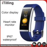 /Fitness-Uhr-Telefon des Verteiler-des intelligenten Sport-Wristband/Armbandes mit Schlaf-Monitor, Pedometer, Kalorie-Verbrauchs-Satz, Abstands-Berechnungs-Funktion
