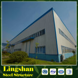 Estructura de acero para el almacén/el taller/vertido