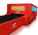 Machine de découpage de laser de fibre de commande numérique par ordinateur de haute énergie pour l'acier inoxydable