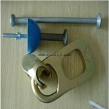 Prefabriceer de Concrete Koppeling van de Ring van de Kaapstander Sferische Hoofd Opheffende (2.5T Geplateerd Zink)