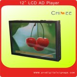 Montage mural LCD 12,1 pouces Ad Player