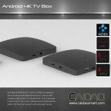 New Arrival 2.4G / 5.8g Dual Band WiFi Android 6.0 TV Box Basé sur le processeur Cortex A53 64bit. 1 Go + 8 Go