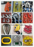 鋼鉄によって造られる索具およびステンレス鋼の索具