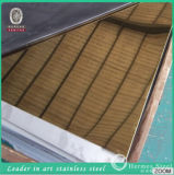 Oro Color Stainless Steel Mirror Sheet Made in Cina con Low Price