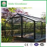 Serre chaude en verre/de cavité en verre Tempered avec le système de ventilation