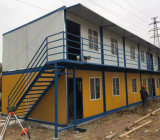 アフリカのためのモジュラーフラットパックの防水折る容器の家