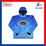 Camisas personalizadas de alta qualidade da pesca do Sublimation de Sportwear da Quente-Venda