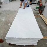 Beau grossiste blanc pur de partie supérieure du comptoir de marbre de cuisine