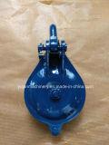 Angestrichener blauer einzelner Antriebsscheibeyarding-Block mit Fessel 5t