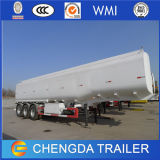 60m3 reboque do petroleiro do combustível dos compartimentos dos eixos 4