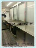 Перемещая киоск доставки с обслуживанием тележки тележки/доставки с обслуживанием быстро-приготовленное питания передвижной кухни передвижной в Qingdao