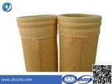 Filtro de polvo de poliamida Tela P84 Filtro de polvo bolsa