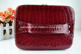 Cassa cosmetica della casella del nuovo di grande capienza di doppio strato sacchetto di lusso di trucco