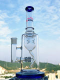 Tubulação de água de vidro de fumo do reciclador da taça da plataforma petrolífera de Perc da matriz